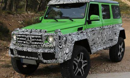 """Spion: Mercedes lanserar G 63 AMG 6X6 kommer som """"grönt monster"""""""