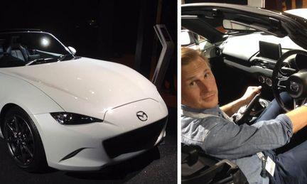 Vi provsitter nya Mazda MX-5 – och kollar in överraskningen i Mazdamontern