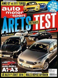 26/2014: Volvos nya motor provkörd