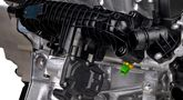 Volvos nya trecylindriga bensinmotor provkörd