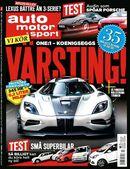 2/2015: Vi provkör Koenigseggs värsting