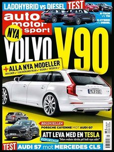 3/2015: Volvo V90 + alla nya modeller