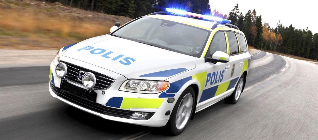 gamla polisbilar