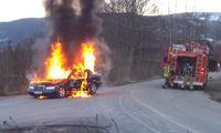 Ska släcka bilbrand – sen går allt fel