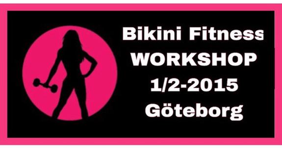 Bikini Fitness-workshop i Göteborg