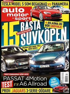 4/2015: 15 bästa suvköpen – Passat vs A6 Allroad