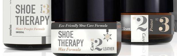 Ren terapi för skor