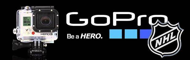 Gopro och NHL i samarbete
