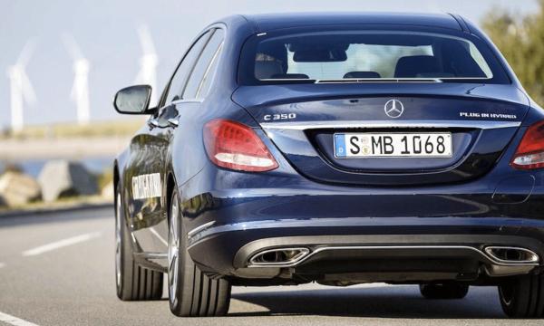 Svenskt pris på Mercedes C-Klass som laddhybrid