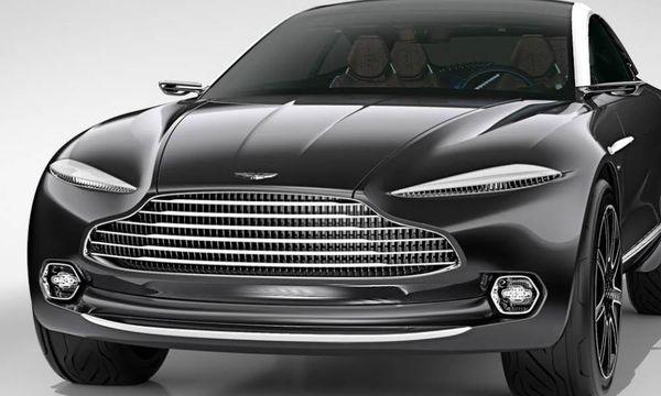 """Aston Martins överraskning: En """"sportsuv"""""""