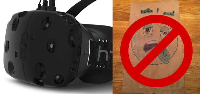 Ingen åksjuka med Valves VR