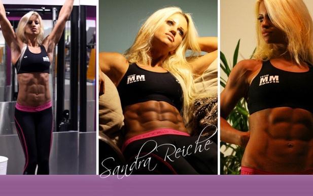 Från glamourmodell till fitnesstjärna!