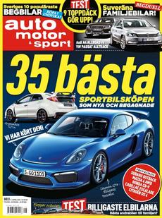 8/2015: 35 bästa sportbilsköpen – 9 sommardäck i test