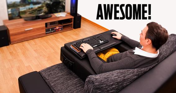 Couchmaster är svaret på alla pc-spelares våta dröm!