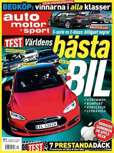 9/2015: Världens bästa bil – Vi testar prestandadäck
