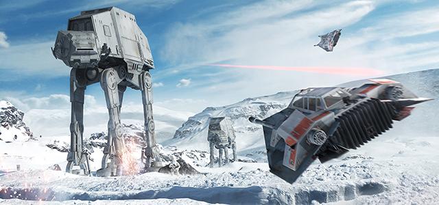 Exklusivt: Vi har sett Star Wars Battlefront!