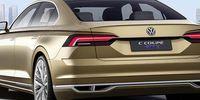 Volkswagen C Coupé GTE är en snygg utmanare till Mercedes CLS