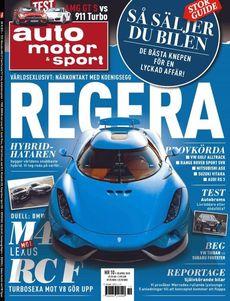 10/2015: Exklusivt med nya Koenigsegg Regera