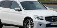 Spion: Senaste bilderna på Mercedes GLC