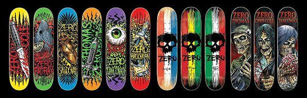 Zero Skateboards till Skate Out