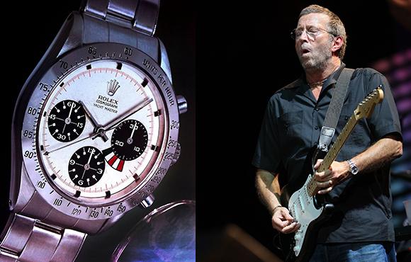 Kolla in Eric Claptons klockor