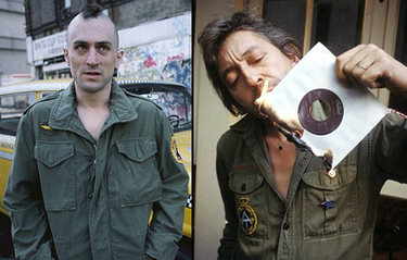 5 ikoner som visar hur man rockar en arméjacka