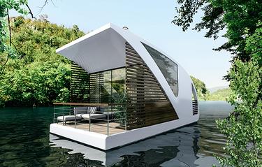 Här vill vi bo i sommar: Det flytande hotellrummet