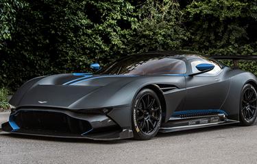 Vila ögonen på värstingen Aston Martin Vulcan