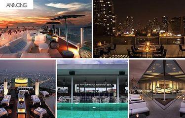 5 otroliga rooftop-barer du kan få tillgång till i sommar