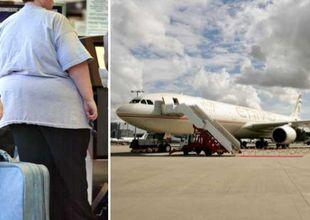 Tvingades sitta bredvid överviktig man på flyget – stämmer flygbolaget