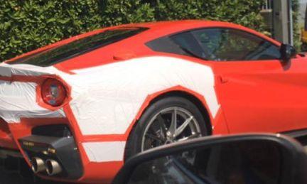 Spion: Snabbare och lättare Ferrari F12 filmad av ams-läsare