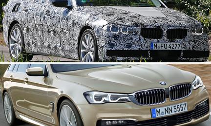 Spion: BMW 5-serie Touring visar upp sig – första detaljerna