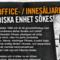 Platsannons: Swedish Fitness söker medarbetare