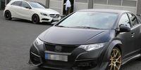 Spion: Här är nya Honda Civic Type R – helt omaskerad