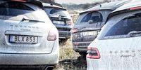 SUVTEST: Porsche Macan, Cayenne, Audi Q5 och BMW X3