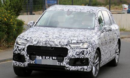 Spion: Audi släpper på maskeringen och visar upp Q7