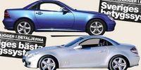 BEG: Två generationer Mercedes SLK