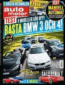 15/2014: Åtta BMW-modeller i test