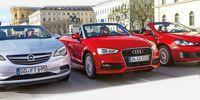 TEST: Audi A3 Cabrio, Opel Cascada, VW Golf Cabrio