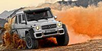 PROV: Mercedes G 63 AMG 6X6 - underbar dinosaurie!