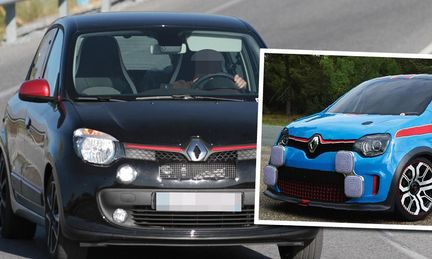 Spion: Renault planerar snabb RS-version av Twingo
