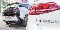 TEST: VW e-Golf mot BMW i3 - bästa citybilen