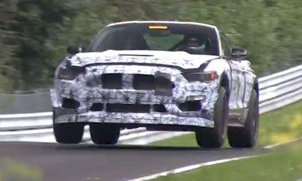 Ford Mustang Shelby GT350 testar på Nürburgring – men med vilken motor?