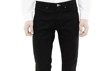 10 svarta jeans