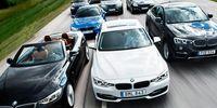 Test: BMW 3-serie och 4-serie – åtta modeller gör upp