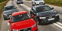 Stort test: Audis sex bästa modeller – vem vinner?