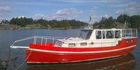 ,Plastad trä, tolvroddare livbåt Högsjöbåt
