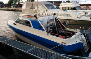 Nautico 740 med trailer Diesel TMD40