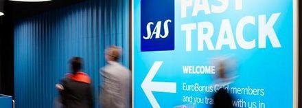Mindre köande för SAS inrikesresenärer