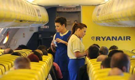 Ryanair satsar på affärsresenärer